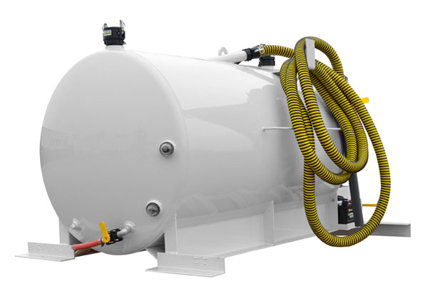 Md400 Skid Mounted Portable Toilet Vacuum Unit For Small